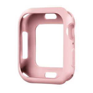 Силиконовый чехол Coteetci TPU Case розовый для Apple Watch 4/5/6/SE 44mm