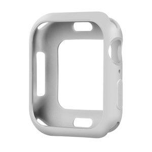 Силиконовый чехол Coteetci TPU Case серый для Apple Watch 4/5/6/SE 44mm