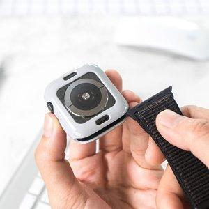 Силиконовый чехол Coteetci TPU Case серый для Apple Watch 4 40mm