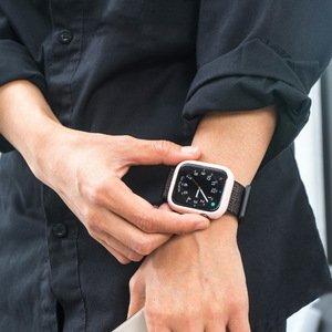 Силиконовый чехол Coteetci TPU Case розовый для Apple Watch 4/5/6/SE 40mm