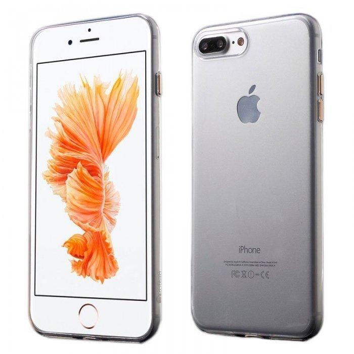 Ультратонкий чехол Coteetci золотой + прозрачный для iPhone 8/7/SE 2020