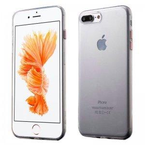 Ультратонкий чехол Coteetci розовое золото + прозрачный для iPhone 8/7/SE 2020