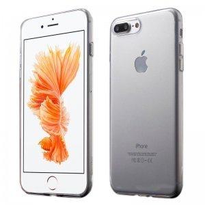 Ультратонкий чехол Coteetci серебристый + прозрачный для iPhone 8/7/SE 2020