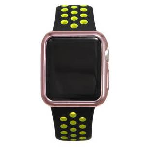 Силиконовый чехол Coteetci розовый для Apple Watch 3/2 42мм