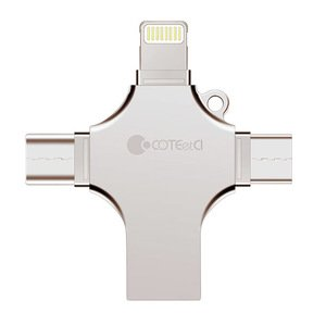 Флеш память COTEetCI U70 USB 3.0 128Gb золотая