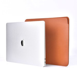 "Чехол COTEetCI Ultra-thin PU коричневый для Macbook 13"""