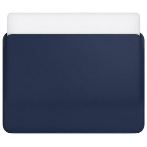 "Чехол COTEetCI Ultra-thin PU синий для Macbook 13"""