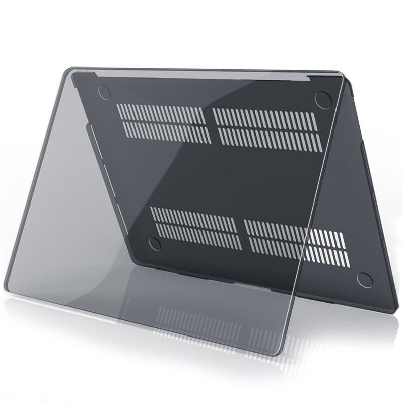 """Полупрозрачный чехол COTEetCI Universal Crystal черный для Macbook Pro 13"""" (2020)"""