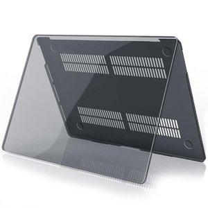 """Полупрозрачный чехол (накладка) COTEetCI Crystal PC чёрный для MacBook Pro 16"""" (2019)"""