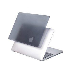 """Полупрозрачный чехол (накладка) COTEetCI Universal PC чёрный для MacBook Pro 16"""" (2019)"""