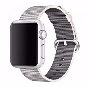 Нейлоновый ремешок COTEetCI W11 серый для Apple Watch 42/44 мм