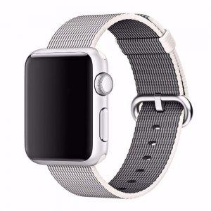 Нейлоновый ремешок COTEetCI W11 серый для Apple Watch 38/40 мм