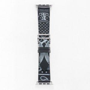 Кожаный ремешок COTEetCI W13 черный для Apple Watch 42/44 мм