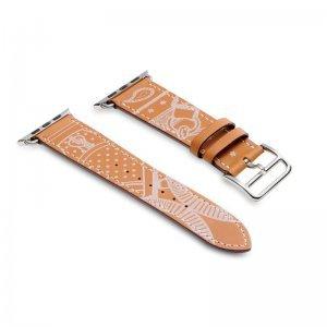 Кожаный ремешок COTEetCI W13 коричневый для Apple Watch 42/44 мм