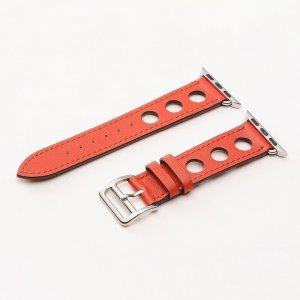 Кожаный ремешок COTEetCI W15 красный для Apple Watch 42/44 мм