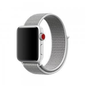 Ремешок Coteetci W17 белый для Apple Watch 42/44mm