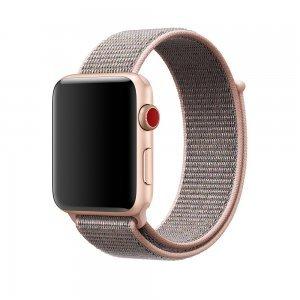 Ремешок Coteetci W17 розовый для Apple Watch 42/44mm