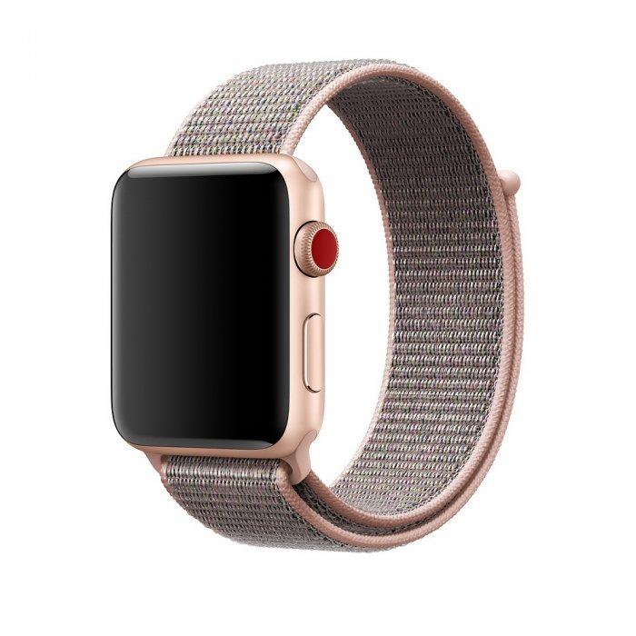 Ремешок Coteetci W17 розовый для Apple Watch 38/40mm