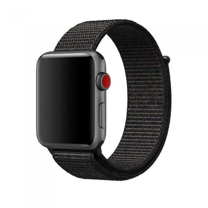 Ремешок Coteetci W17 черный для Apple Watch 42/44mm