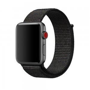 Ремешок Coteetci W17 черный для Apple Watch 38/40mm