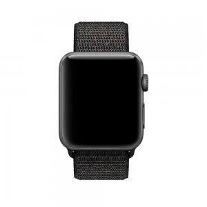 Ремешок Coteetci W17 черный для Apple Watch 38mm