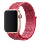 Ремешок Coteetci W17 ярко-розовый для Apple Watch 42/44mm