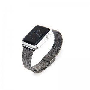 Ремешок для Apple Watch 42/44 мм - Coteetci W2 черный