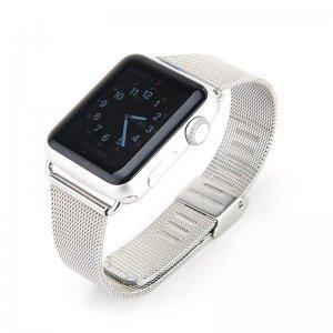 Ремешок Coteetci W2 серебристый для Apple Watch 38/40 мм