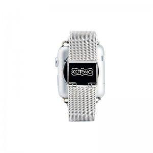 Ремешок для Apple Watch 38/40 мм - Coteetci W2 серебристый