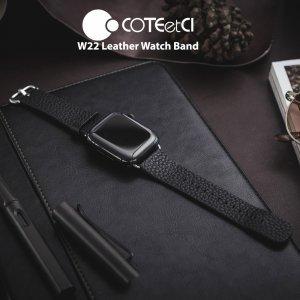 Ремешок COTEetCI W22 Premier черный для Apple Watch 38/40mm