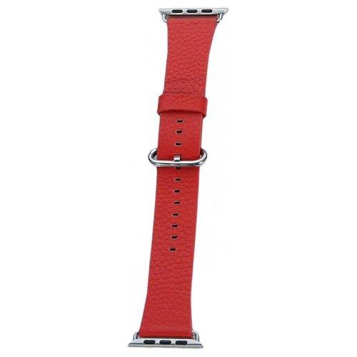 Ремешок COTEetCI W22 Premier красный для Apple Watch 42/44mm
