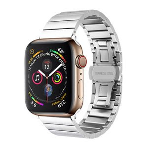 Ремешок COTEetCI W25 серебристый для Apple Watch 38mm/40mm