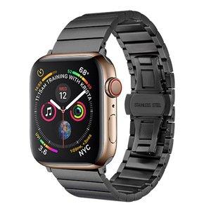 Ремешок COTEetCI W25 черный для Apple Watch 38mm/40mm
