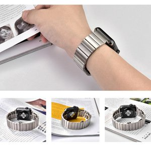 Ремешок COTEetCI W25 серебристый для Apple Watch 38mm/40mm