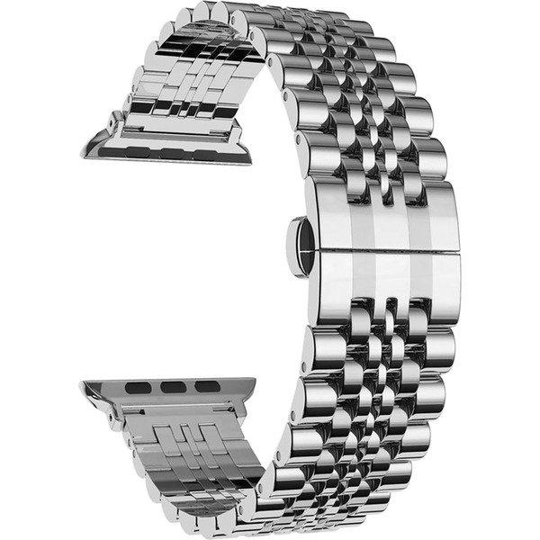 Ремешок COTEetCI W27 серебристый для Apple Watch 42mm/44mm