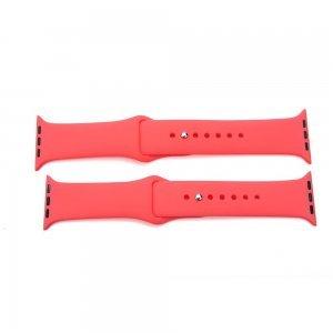 Ремешок для Apple Watch 38/40 мм - Coteetci W3 красный