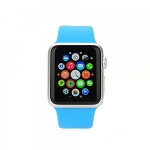 Ремешок для Apple Watch 38/40 мм - Coteetci W3 голубой