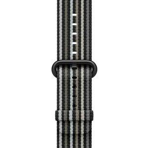 Ремешок COTEetCI W30 Rainbow чёрный для Apple Watch 42/40mm