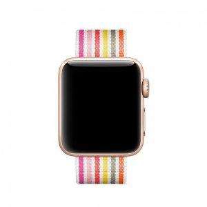Ремешок COTEetCI W30 Rainbow розовый для Apple Watch 38mm