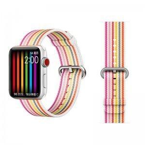 Ремешок COTEetCI W30 Rainbow розовый для Apple Watch 42/44mm