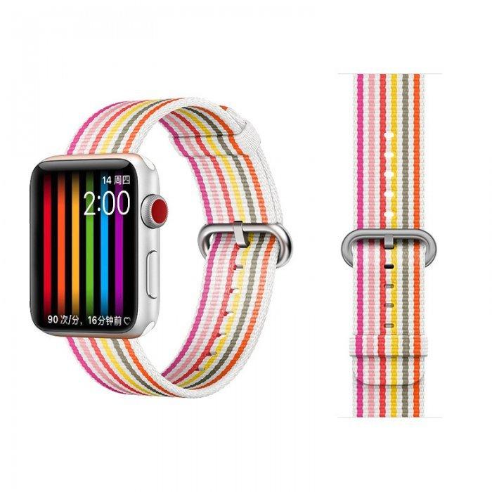 Ремешок COTEetCI W30 Rainbow розовый для Apple Watch 38/40mm