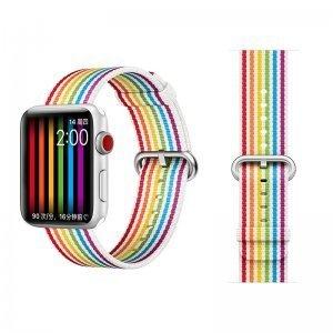 Ремешок COTEetCI W30 Rainbow разноцветный для Apple Watch 38/40mm