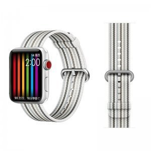 Ремешок COTEetCI W30 Rainbow серый для Apple Watch 38/40mm