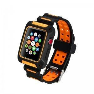 Ремешок-чехол COTEetCI W31 для Apple Watch 42mm оранжевый