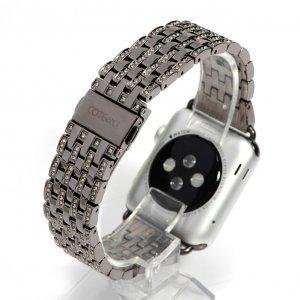 Ремешок для Apple Watch 38/40 мм - COTEetCI W4 Magnificent чёрный