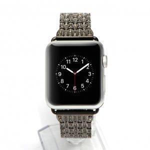 Ремешок для Apple Watch 42/44 мм - COTEetCI W4 Magnificent чёрный