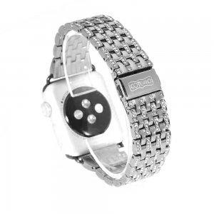 Ремешок для Apple Watch 38/40 мм - COTEetCI W4 Magnificent серебристый