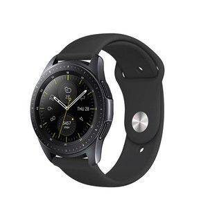 Ремешок COTEetCI W42 Silicone Band черный для Samsung Gear S3 22mm