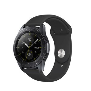Ремешок COTEetCI W42 Silicone Band черный для Samsung Gear S3 20mm