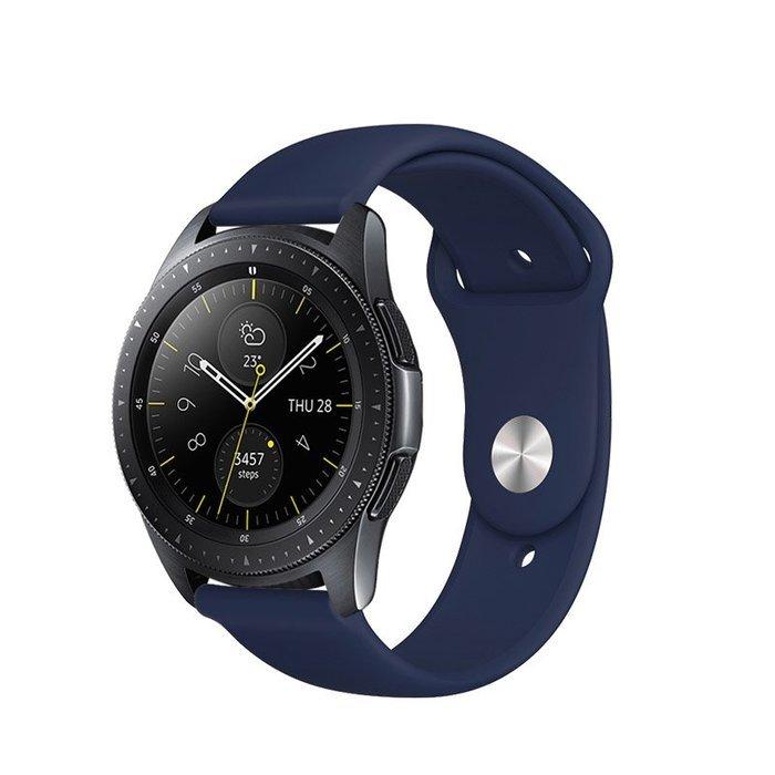Ремешок COTEetCI W42 Silicone Band синий для Samsung Gear S3 22mm